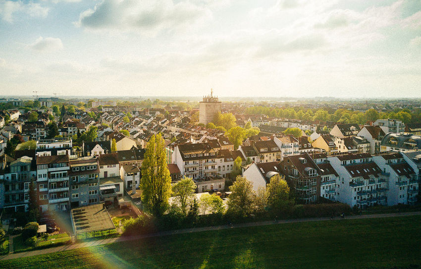 Air Architecture Bremen Building Exterior Built Structure City Cityscape Day Dji Drone  Grass Mavic Mavic Pro Nature No People Outdoors Residential  Sky Travel Destinations Tree
