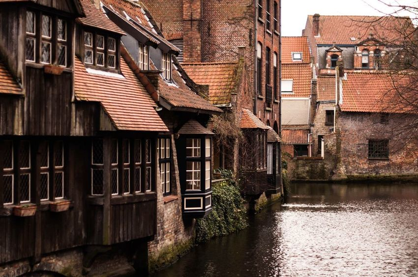 One of the oldest parts of the city of Bruges... And one of the parts I always seem to miss when visiting it... City Streetphotography