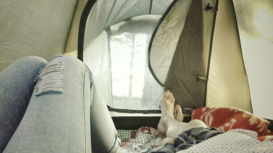Indoors  Lifestyles Vacations Human Body Part People Human Leg палатка отдых Природа Nature
