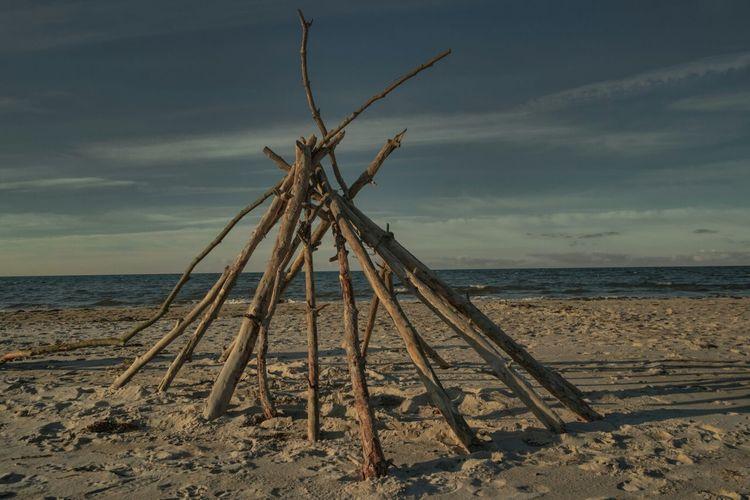 Darsser Weststrand ♥ Beach Nature Bohemian Driftwood Art