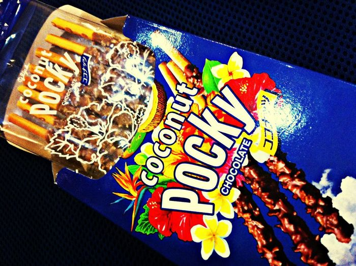 Coconut! Pocky Meditating Sweets