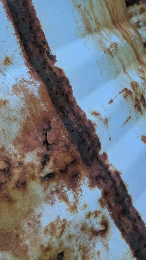 Metal Metallic Abstract No People Dirty Day Oxide Oxidation Lines, Colors & Textures