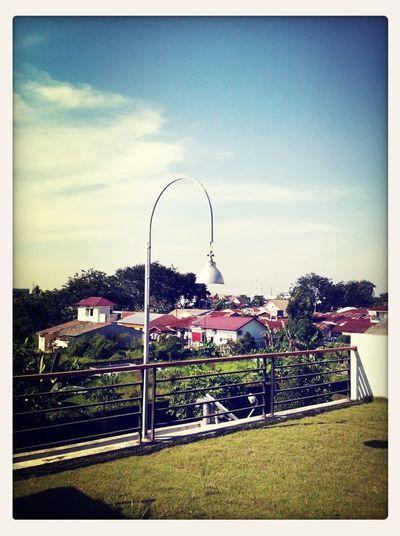 Photo from summertime in Medan...