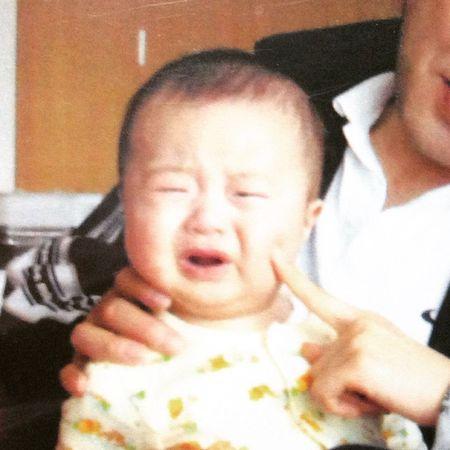 Photo Cry Cute Baby Nephew  写真 かわいい 甥っ子 赤ちゃん 可愛い Weep 泣いてる 引越し 叔母馬鹿 泣 甥 泣き顔