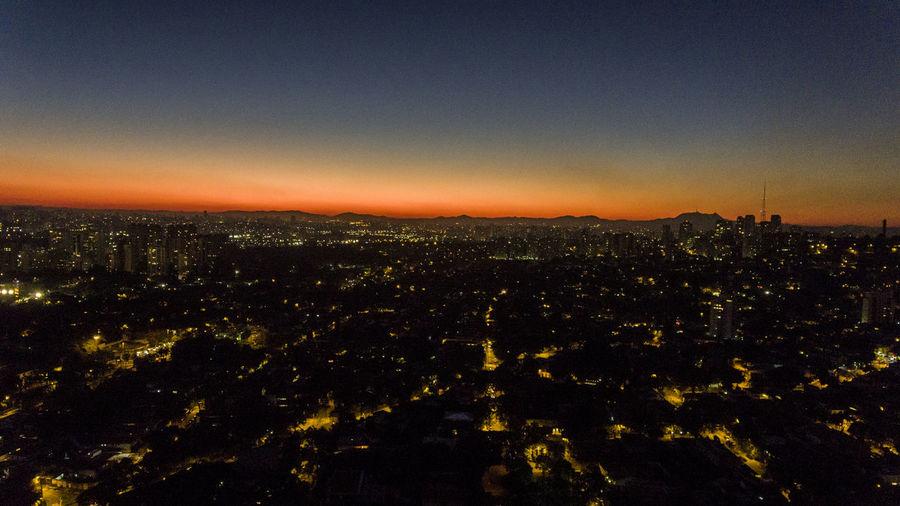 Architecture City Cityscape Illuminated Nature Night No People Outdoors Sky