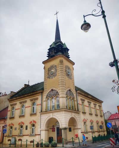 Architecture Building Exterior Built Structure City Outdoors Clock Tower Day No People Townhall Townhall Tower Skawina Town Malopolska Małopolska Polska Poland 💗 Poland Polandisbeautiful Poland Is Beautiful Polonia