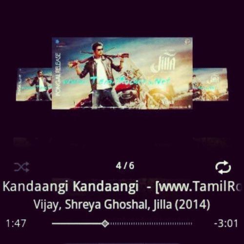 Jilla Jilla_fever Vijay Vijayism kaandaangi_kaandaangi voiceofthalapathy mesmerizing repeat_mode