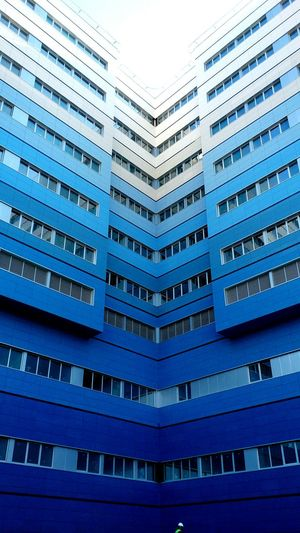 Hospital Construction Perspective Building Blue Architecture Architecture_collection Working Hard Finishing