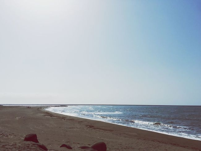 Sea Beach Clear Sky Beauty In Nature No People Oneday Smmer Japan