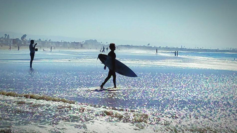 Silhouette Scenics Surfingphotography Surfer Surf Board Beach Sea Water Enhance Asthetics Surfing NPB Friday Lowtide  Tribulation Prayer Time Shore Sharpen Coastal Feature Prospective Beachphotography Godrules Harvestmoon Poleshift Tide
