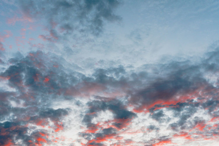 Evening Light Abstract Background Background Texture Backgrounds Beauty In Nature Cloud - Sky Clouds And Sky Cloudscape Day Dramatic Sky Evening Sky Full Frame Idyllic Low Angle View Multi Colored No People Outdoors Scenics Sky Sky Only Sunset Tranquil Scene Tranquility Weather