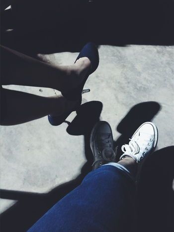 Darkness And Light Shoelfie Eyeem Philippines