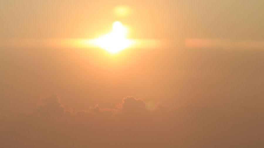 Aerial Shot Sun Set Sun Clouds On The Road Sky EyeEm Best Shots