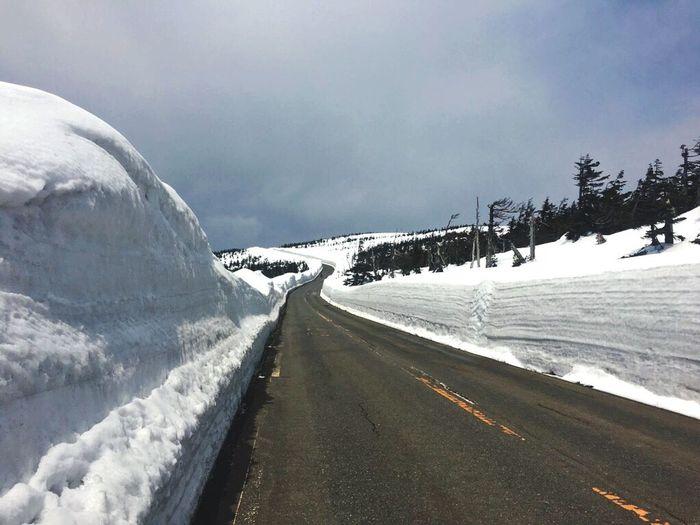 Japan Iwate Prefecture Hachimantai Snow Corridor 日本 岩手県 八幡平 アスピーテライン 雪の回廊