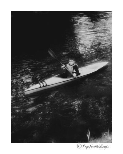 Real People Outdoors Water Sport Nature Blackandwhitephotography Black And White Collection  Poladesiero
