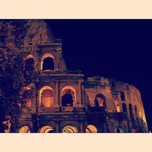 Rome Italy Colosseum Italyiloveyou Architecture Roman Coliseum Piazzadelcolosseo Amphitheater Vespasian Titus Roma Flavian Gladiator History