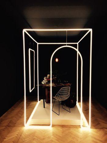 Creative minds... Neon Lights Design Fashion Pittiuomo