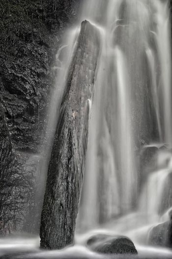 Spraying Motion Water Power In Nature No People Outdoors Day Nature Crash waterfall Monochrome Long Exposure Dartmoor