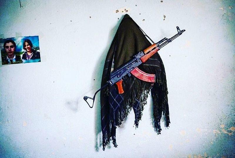 If we don't fight our people who will? Kurdistan Kurdish Wall Pkk Apo Village Gerilla Türkiye Turkey