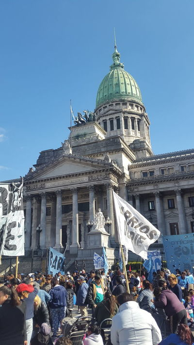 Argentina Congreso Nacional Congreso De La Nacion Congressonacional Argentina Architecture Argentine Politics People In The Background Manifestation Reclaiming Crowd People Crowded People Crowded Street Crowd People Walking  People Photography People Peoplephotography Argentina Photography People Portrait