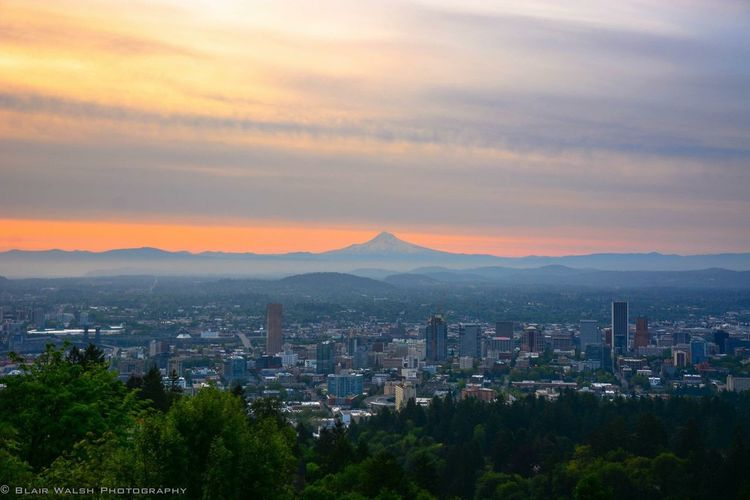 Portland Portland, OR Oregon Pacificnorthwest Photography Sunrise Nikon Nikonphotography D7100