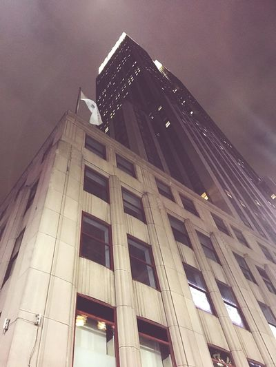 New York City Ustravel Architecture Low Angle View City Empire State Building