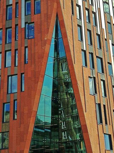 Hafencity Architecture Building EyeEm Best Shots First Eyeem Photo Hamburg House Red Taking Photos Jopesfotos - Buildings