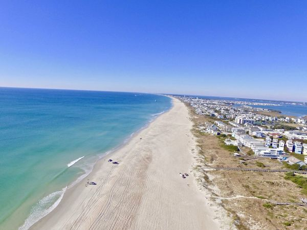 Atlantic Beach NC Beach Photography Beach Blue Clear Sky Horizon Over Water Nature Outdoors Sand Scenics Sea Sky Tranquil Scene Water