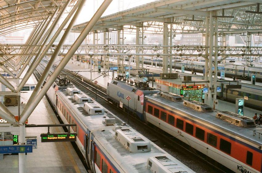 Station Station Platform Wating For The Train Hello World Hi! Taking Photos Film Photography Filmcamera Kodak Color Plus200 NIKON FE2 35mm Film 35mm Camera