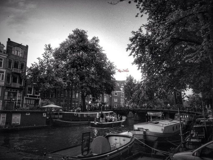Amsterdam Black & White Water