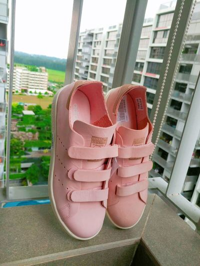 👟👟 Adidas Adidasoriginals Adidas Originals Original Sneakers Love Leather Nubuck Vapourpink Pink Love Kicks New Stansmith
