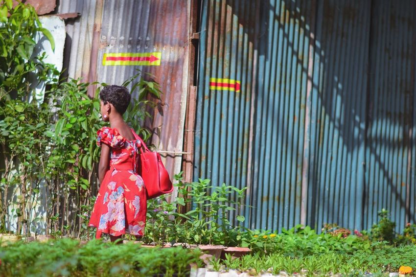 Red Girl Girl Child Red Dress Chittagong Streetstyle Fatalframes BeautifulBANGLADESH Bangladeshiphotographer Park ASIA Nikon One Person Traditional Clothing