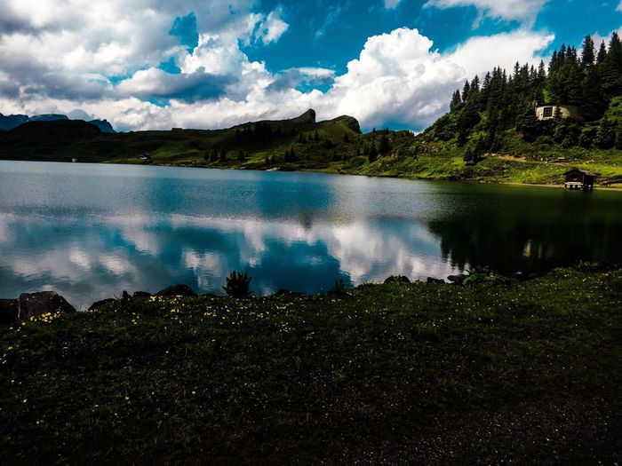 Canon Trübsee Lake Mountains&lake Canon70d