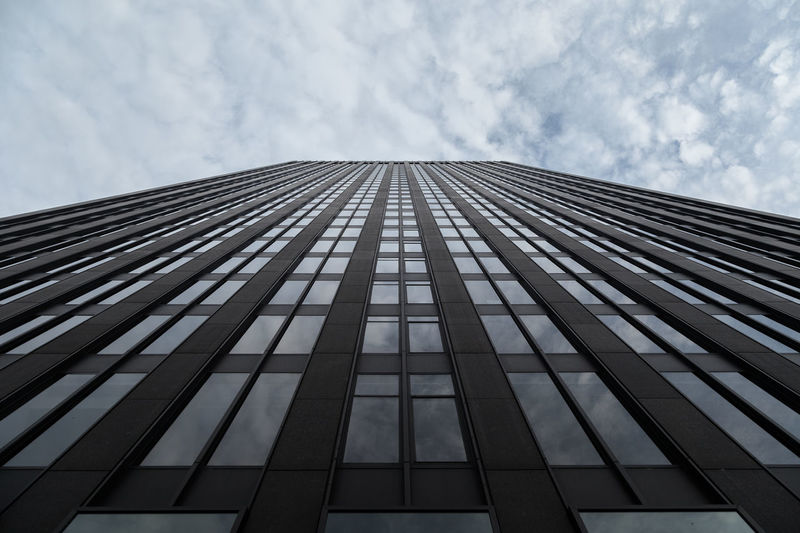 Architecture Building Building Exterior Built Structure City Cloud - Sky Day Directly Below Glass - Material Low Angle View Modern Nature No People Office Office Building Exterior Outdoors Sky Skyscraper Tall - High Tower