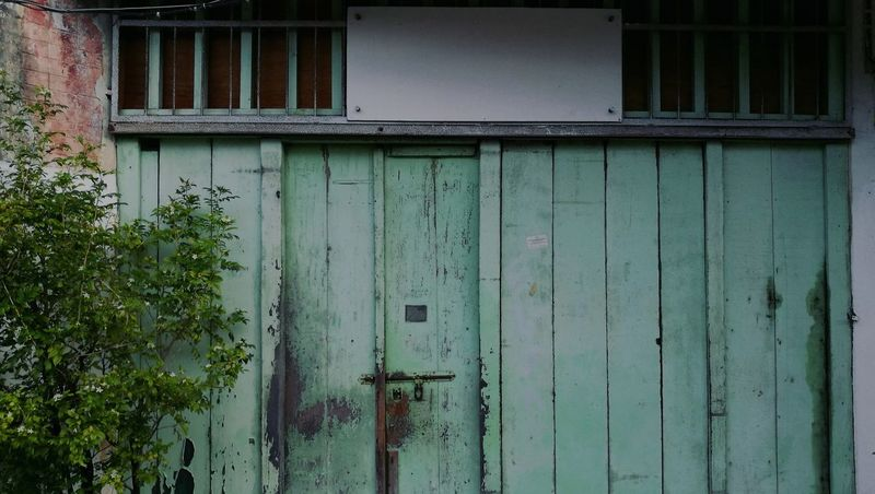 Colour Of Life Old House Green Doors