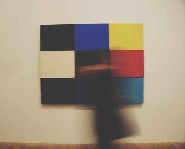 Minimalist Architecture Squares And Lines Multi Colored Minimalism Indoors  People Walking  Modern Art TateModern EyEmNewHere