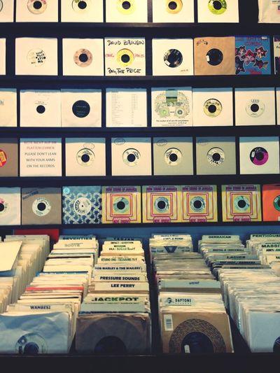 Vinyl Reggae Record Shop