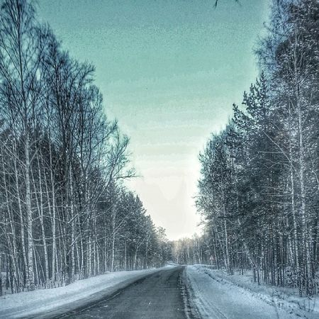 Winter Road Brn зима дорога