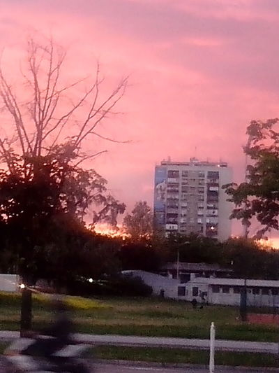 Across The Street, My BLVD ♥ SUNSET AT THE PLAYGROUND Novi Sad That's Me # EMILY ®™
