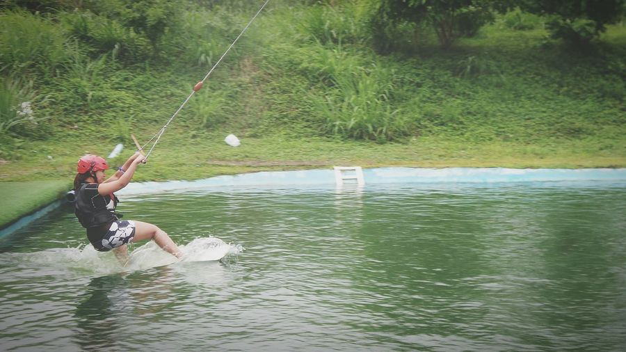 Glide. Wakeboarding @ Nuvali Laguna, Philippines Eyeem Philippines Photo by Gra. My Younger Sister