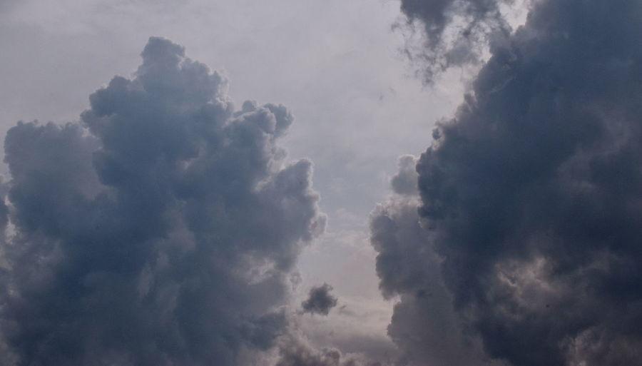 Dark clouds.