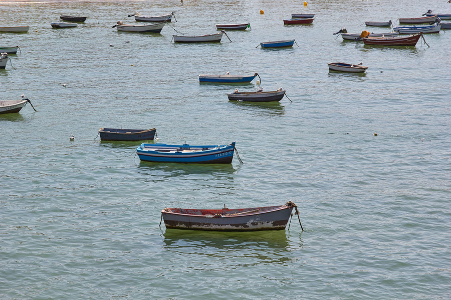 Boats at the sea in Spain. SPAIN Transportation Travel Boat Day Little Boat No People Outdoors Sea Water