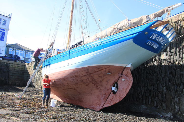 Boat Boat Builders Cornwall Uk Girl Power Nautical Vessel Pilot Cutter Sailing Boat Sailor Shipwright Skipper Wooden Boat