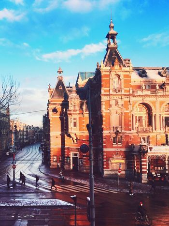Just the view from my workplace. Could be a whole lot worse I guess? Amsterdam Amazing View Enjoying The Sun Architecture City Life Streetphotography Cold Days Leidseplein