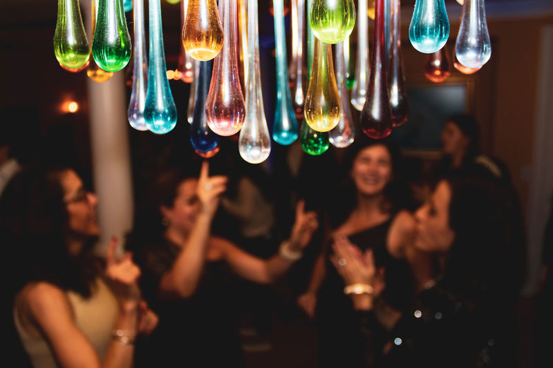 Group of people at nightclub