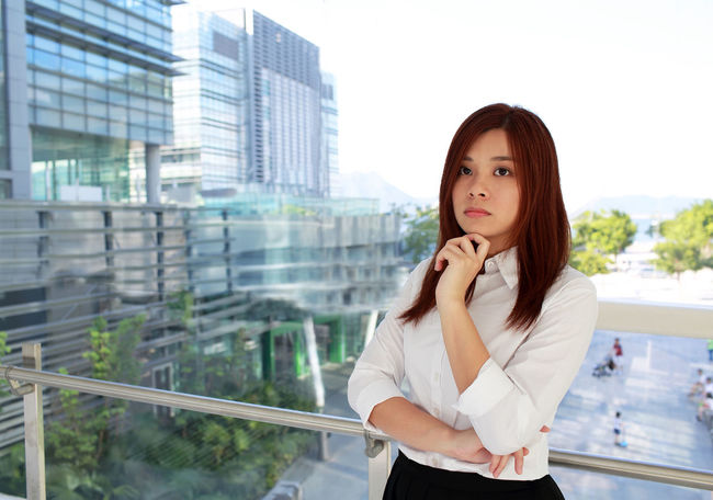 Office Portrait Of A Woman Thinking Women Who Inspire You Worker Working Business Finance And Industry Businesswoman Career Girl Girls Job Lifestyles Model Occupation One Person Portrait Pose Question Standing Technology White Woman Portrait Women Young Women