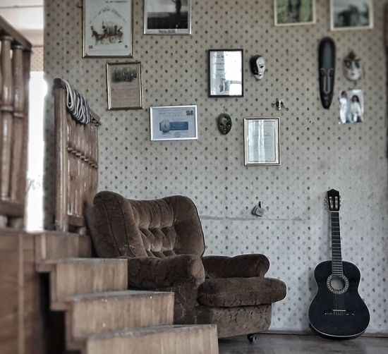 Indoors  Home Interior Home Showcase Interior Furniture No People Day Guitar Georgia Photography Themes