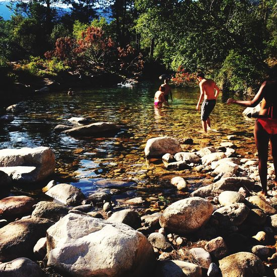 Pont De L'oso Landscape Natural Water Water Fresh Wonderful Relaxing Swimming