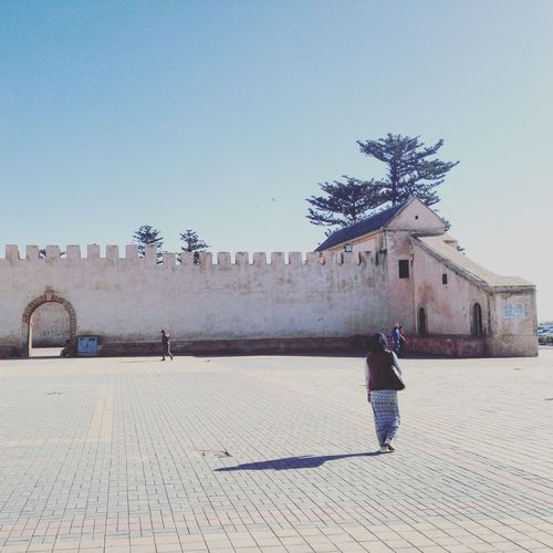Morrocco Essaouira Clear Sky oriental Outdoors Built Structure Women First Eyeem Photo