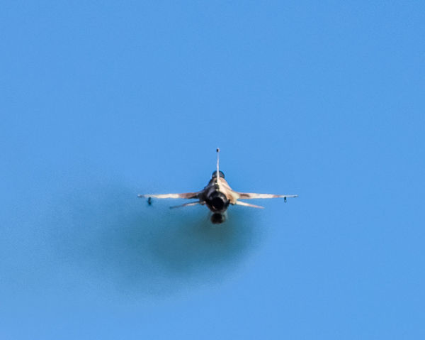 Aircraft Aviation Aviationphotography Back Blue Blue Sky Clear Sky Day F-16 Flight Israeli Air Force Jet Military Mode Of Transport Outdoors Sky Smoke